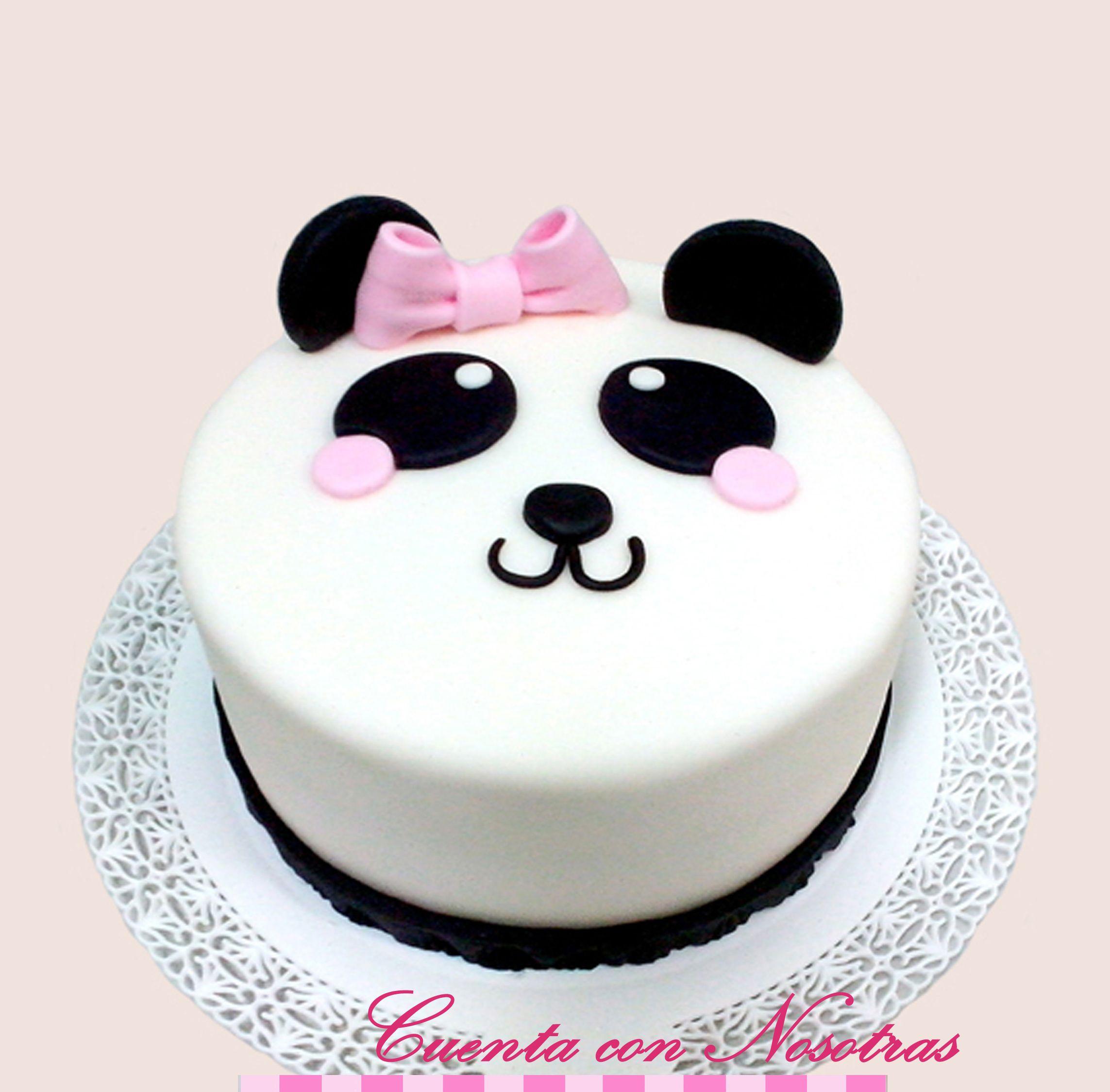 Pastel De Panda Para Nina