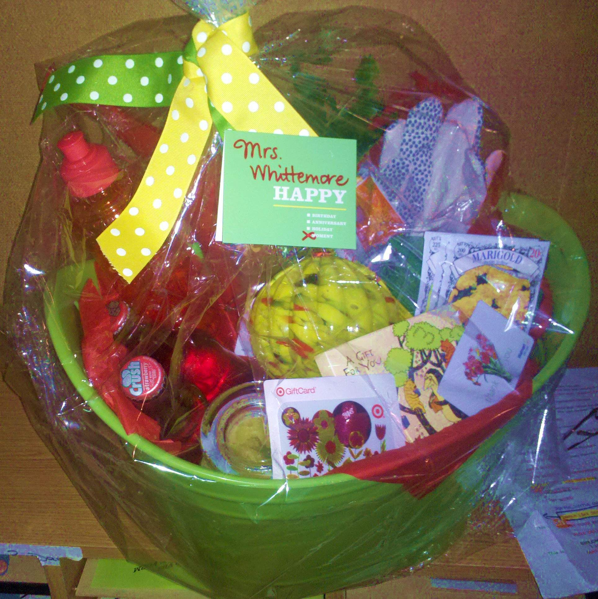 how to make great, inexpensive gift baskets, lists for