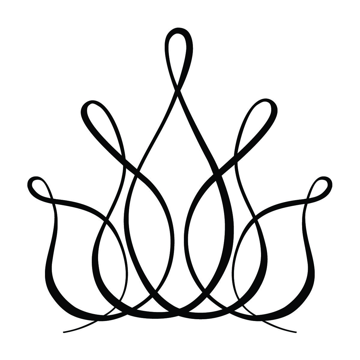 Stylized Crown Graphic