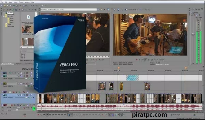 how to download sony vegas 16 for free
