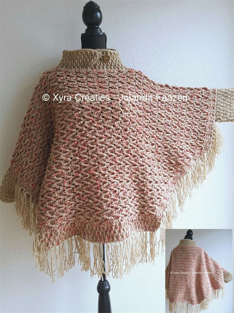 Patr1095 Haakpatroon Patroon Haken Gehaakt Crochet Pattern
