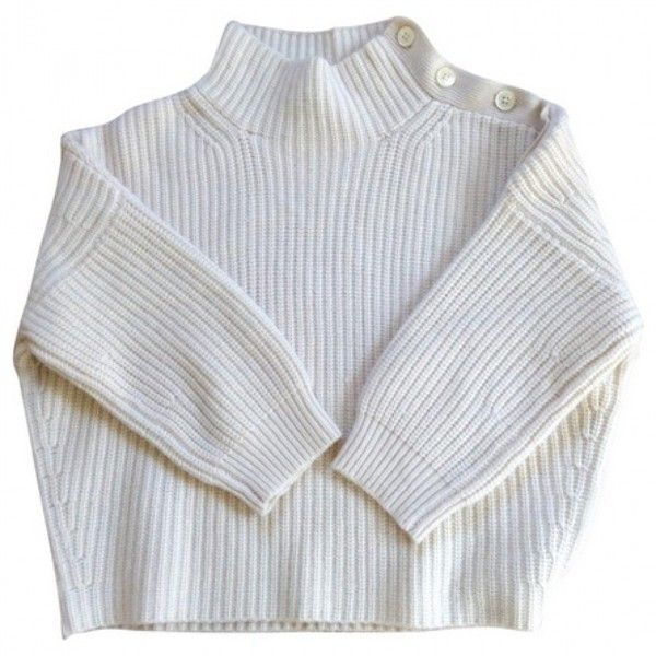Beige Cashmere Knitwear VANESSA BRUNO (310 ARS) ❤ liked on Polyvore featuring tops, sweaters, shirts, jumpers, vanessa bruno top, beige sweater, vanessa bruno sweater, shirt sweater and beige jumper