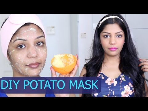 Skin Lightening Potato Face Mask for Acne Scaring and Pigmentation | Easy Life Hacks