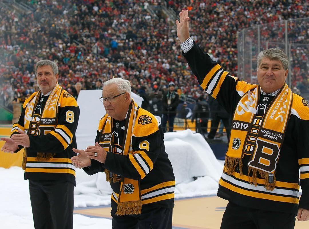 Legends Are In The Building Winterclassic Boston Bruins Bruins Boston Bruins Hockey
