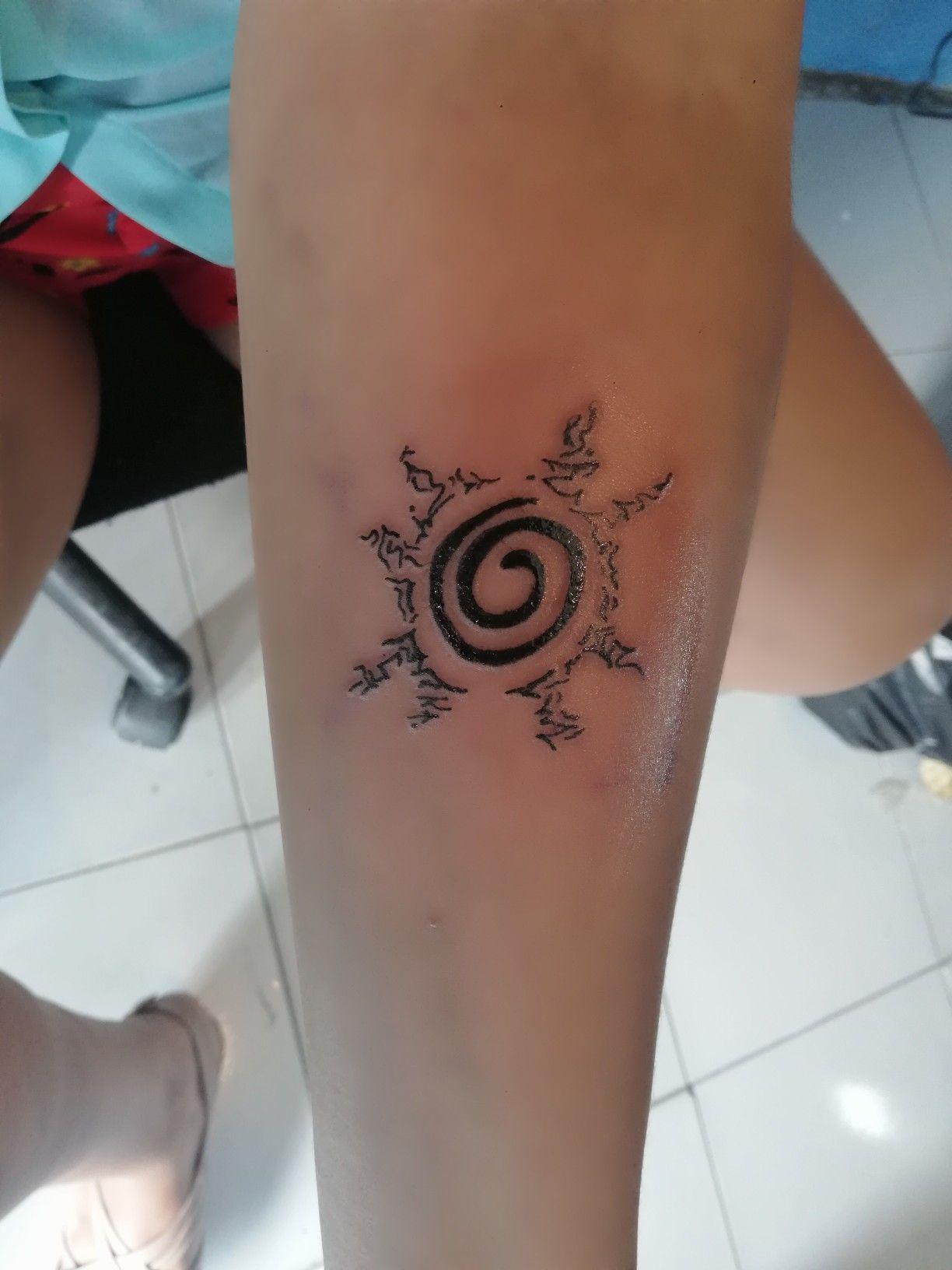 Sello De Naruto Tatuaje Sfb