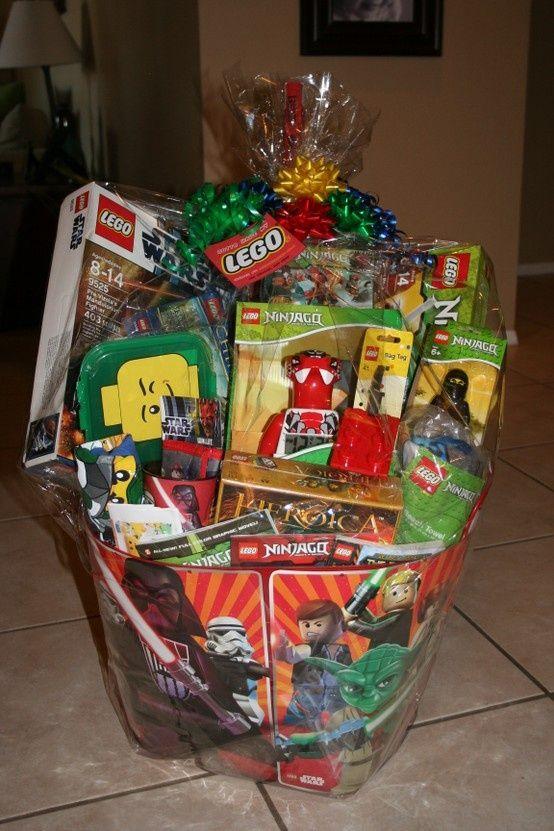 Lego silent auction basket auction ideas pinterest auction easter baskets negle Gallery