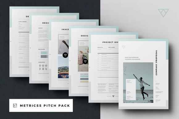 Proposal Pitch Pack by Egotype on @creativemarket Graphics