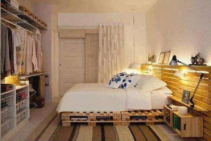 Letti Fatti Di Pallet : Realizzare un letto con i pallet arredamento letti con bancali