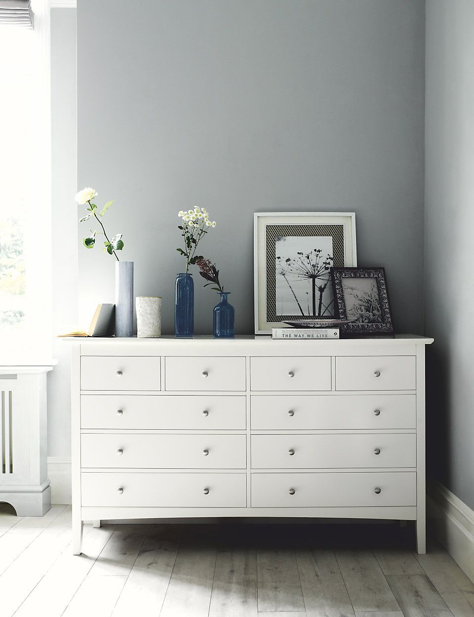 Hastings Ivory 10 Drawer Chest | Bedroom chest of drawers ...