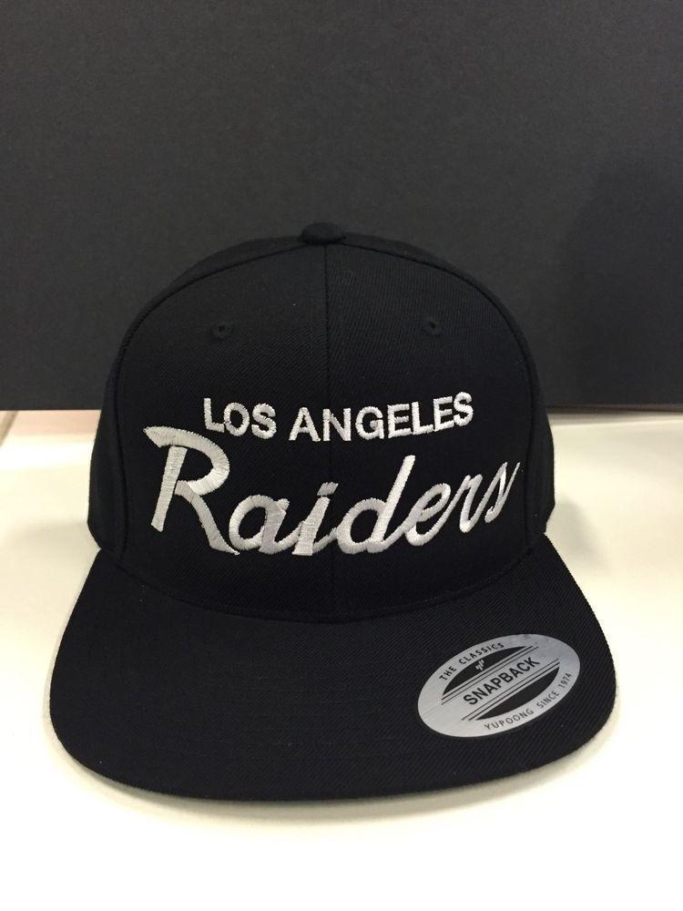 N W A Vintage Snapback La Raiders Cap Hat On Real Yupoong Premium Snapback Caps Hats Hats Snapback