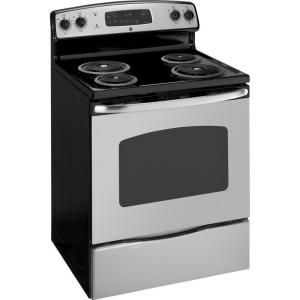 GE 30 in  Self-Cleaning Freestanding Electric Range in