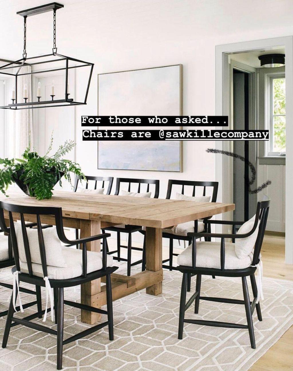 49 Awesome Natural Farmhouse Dining Room Decor Ideas #farmhousediningroom