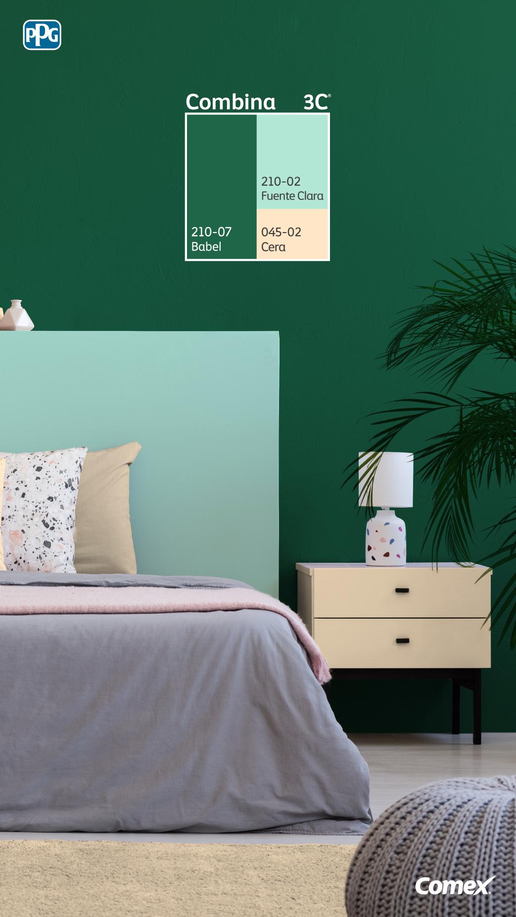 Logra El Balance Perfecto De Color Seleccionando 3 Tonos Distintos 6 Combinaciones De Colores Del Dormitorio Colores De Interiores Colores De Casas Interiores