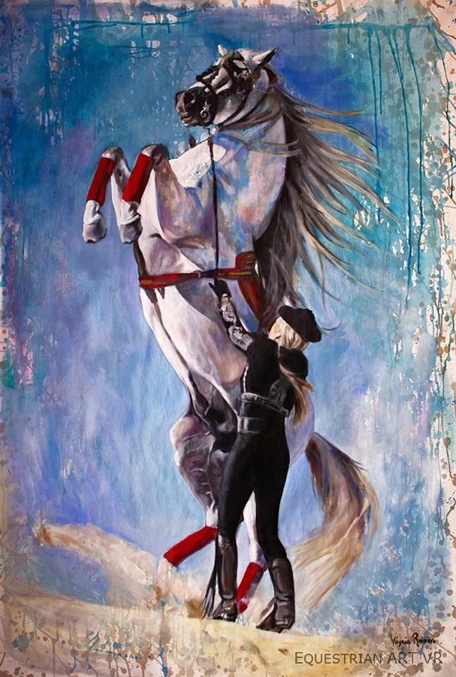 Hermoso-Patricia-Virginia-Romero-Spain-Equestrian-Art-VR.jpg (647×960)