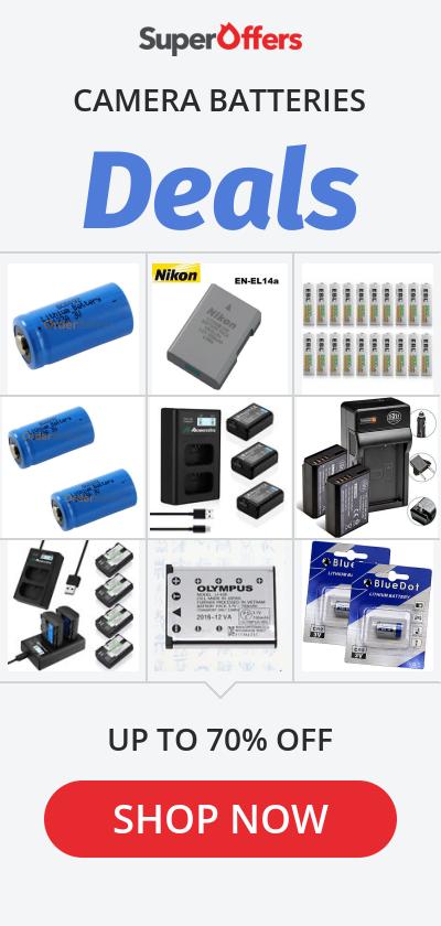 Camera Batteries Top Deals & Lowest Price