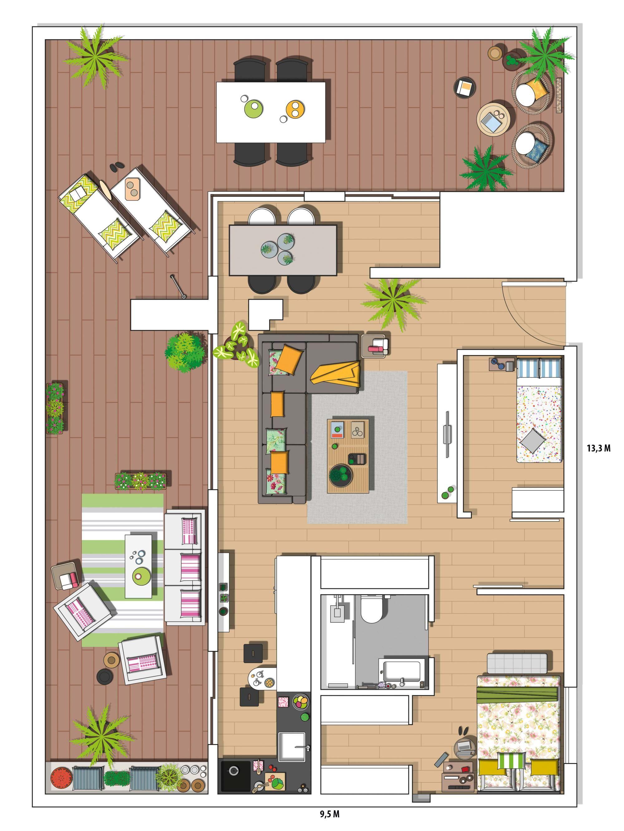 Vivre En Appartement Ou En Maison un appartement pour vivre dehors | vivre dehors, appartement
