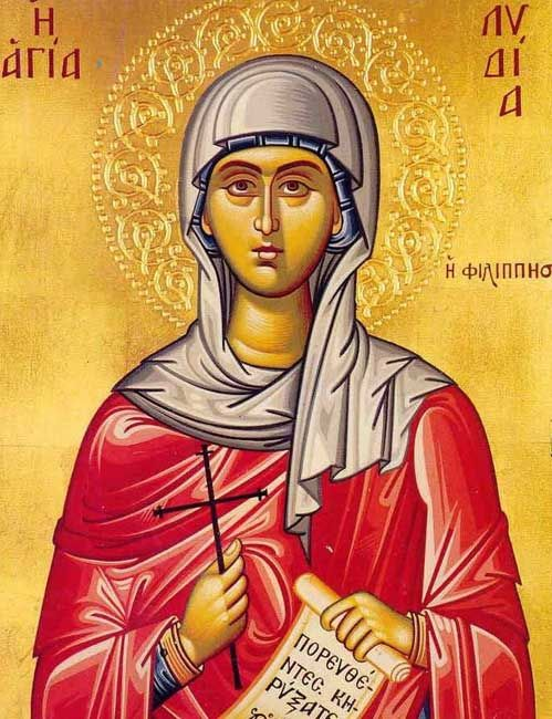 Lydia of Thyatira, (Lydia of Philippi), the Purple-seller,  mentioned in Acts 16:14-15