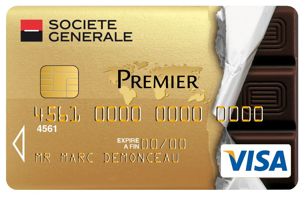 Célèbre Carte #Collection Visa Premier #societegenerale parfumée au  TI26