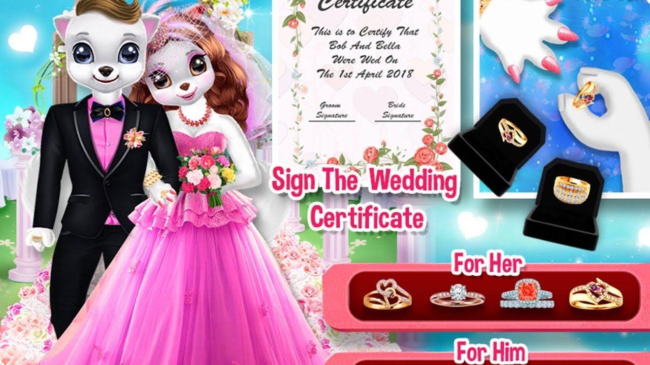 My Puppy Wedding And Honeymoon Fun Wedding Games For Girls Fun Wedding Games Wedding Games Puppy Wedding