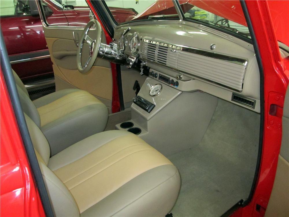1950 Chevrolet 3100 Custom Pickup Interior 161837