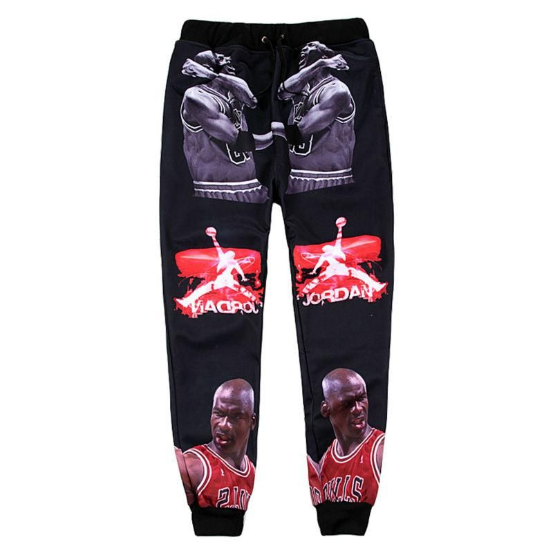3719c0e381899b ... Men s Harem Pants by The 3D Fashion. Cool 3D Star Long Trousers hiphop  Stylish Sweatpants