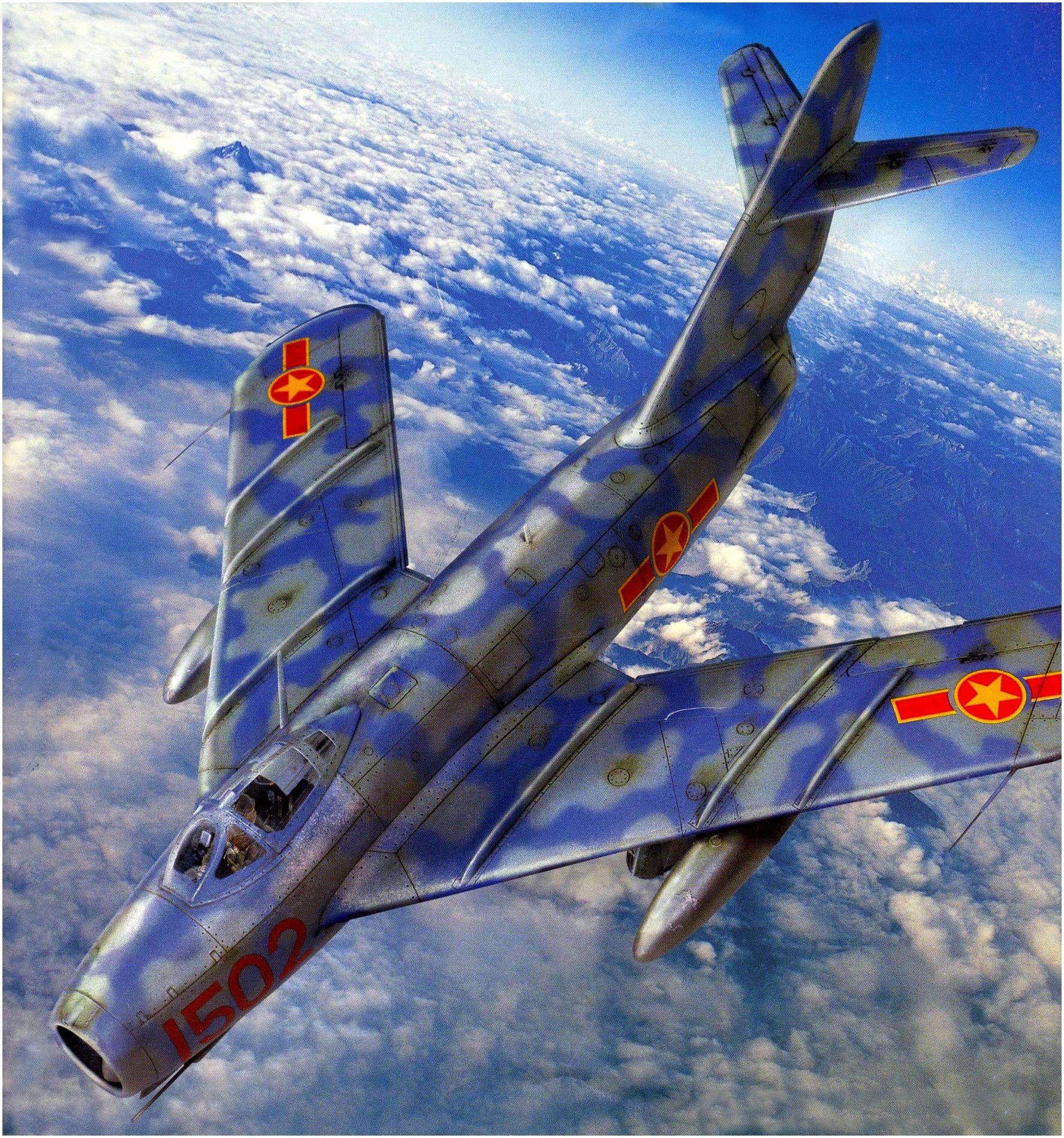 MiG17 North Vietnamese Air Force 1000+ Modern Aviation