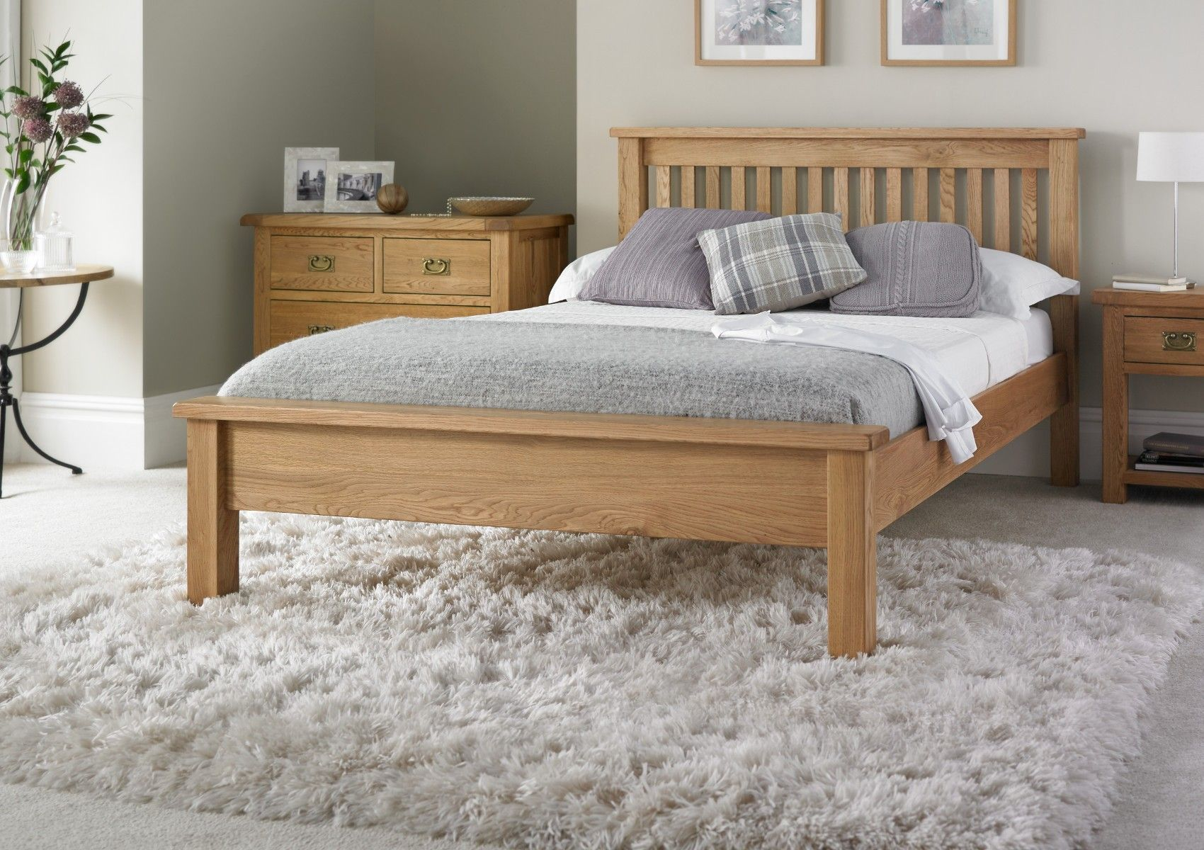 Enjoy The Natural Beauty Of Oak With Our New Heritage Oak Collection A Truly Versatile Range That Will Work Oak Bedroom Furniture Oak Bedroom Wooden Bedroom