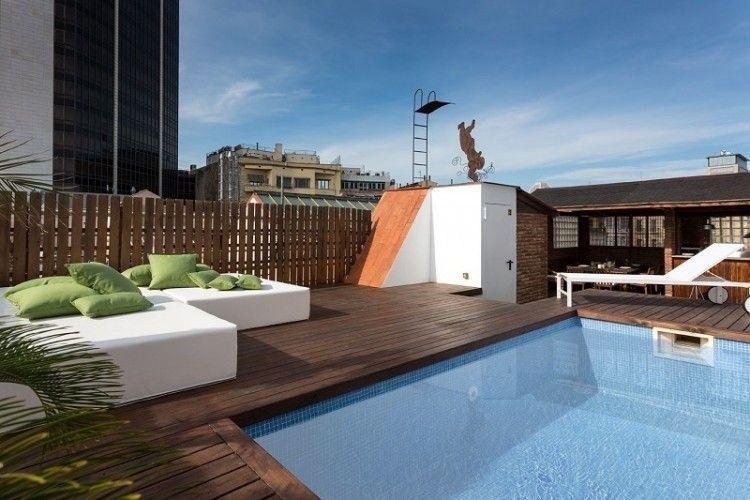 Las m s impresionantes piscinas en terrazas de ticos terrasse piscina terraza terrazas et - Piscinas de terraza ...