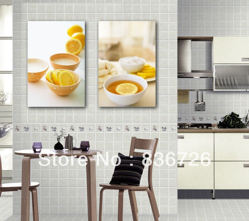 Free Shipping Kitchen Wall Art Paintings Canvas Fashion