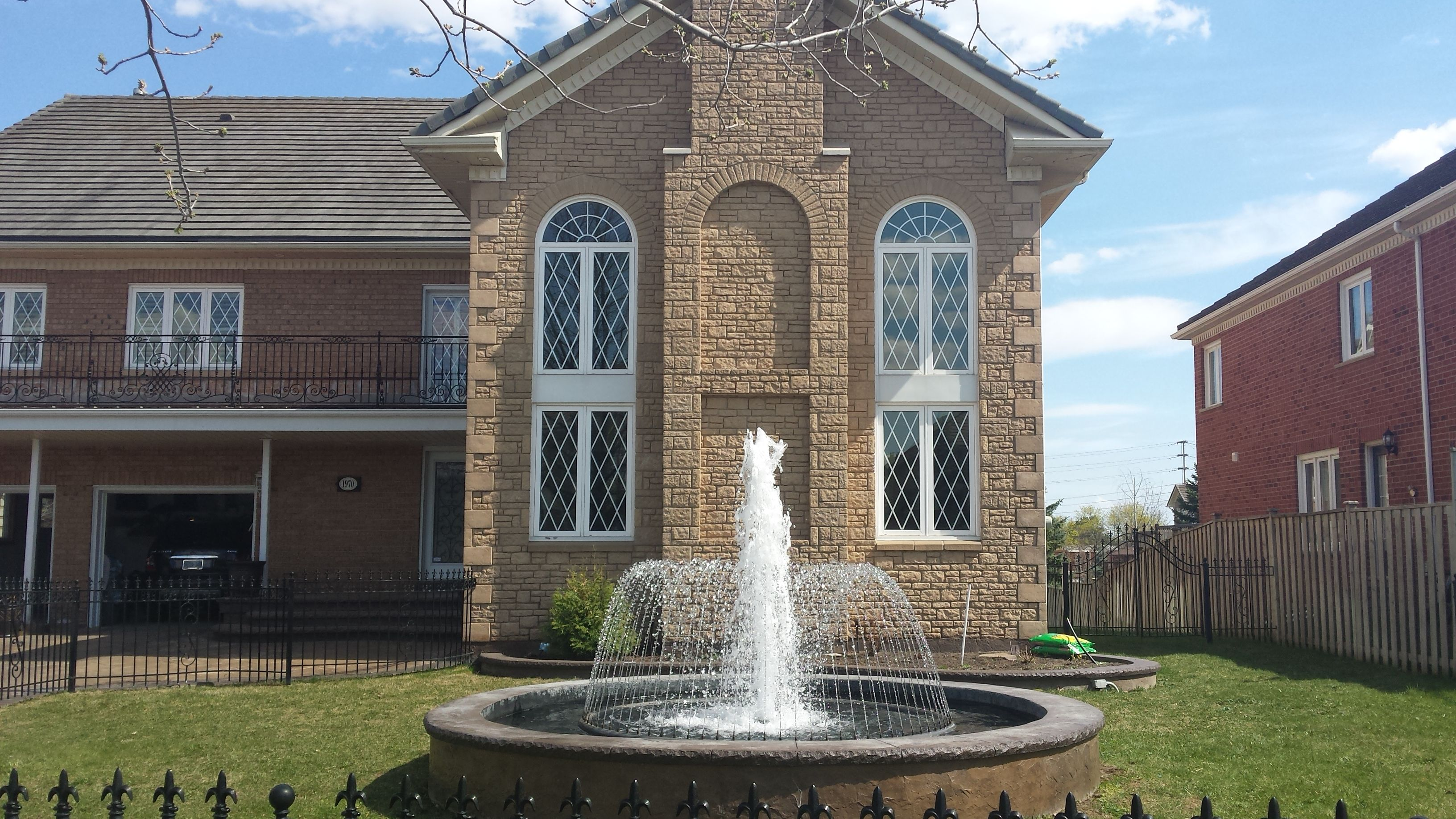 Custom Water Feature  By Fountain Place Company In Toronto,