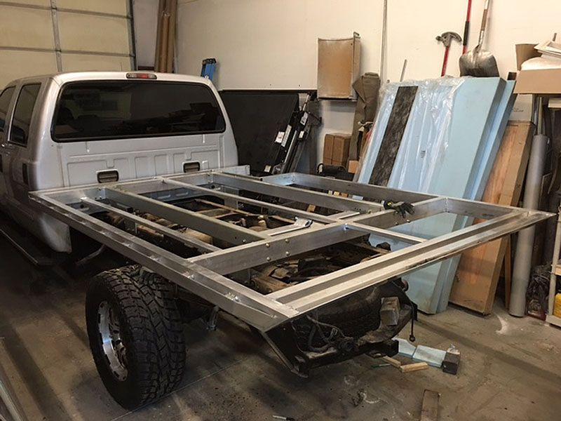 Phoenix Builds Statement Camper Truck Bed Custom Campers Flat Deck Ideas