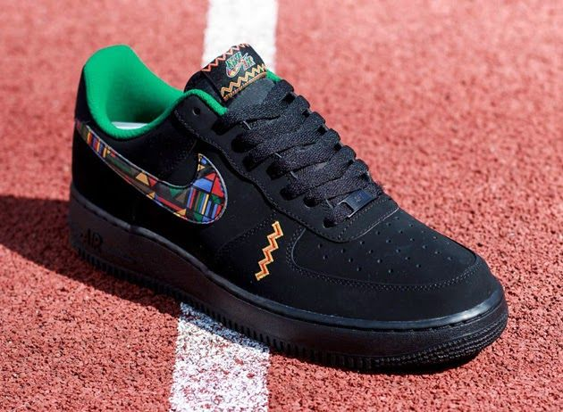 Nike Air Force One Baskets Basses Gymnase Jungle Urbaine Pour Les Femmes