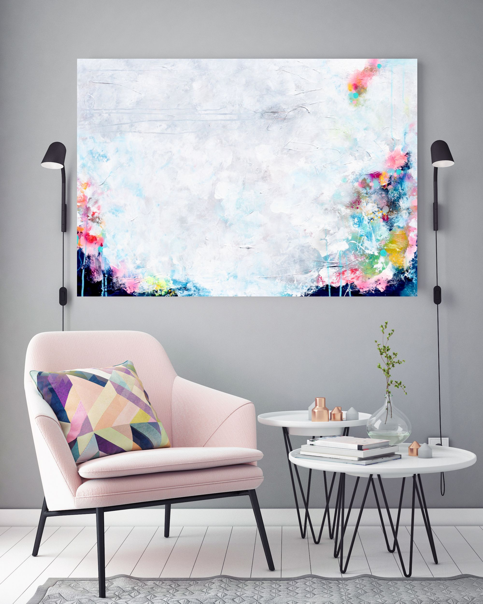 Abstract Schilderij | www.esthergemser.com | Artist Esther Gemser ...