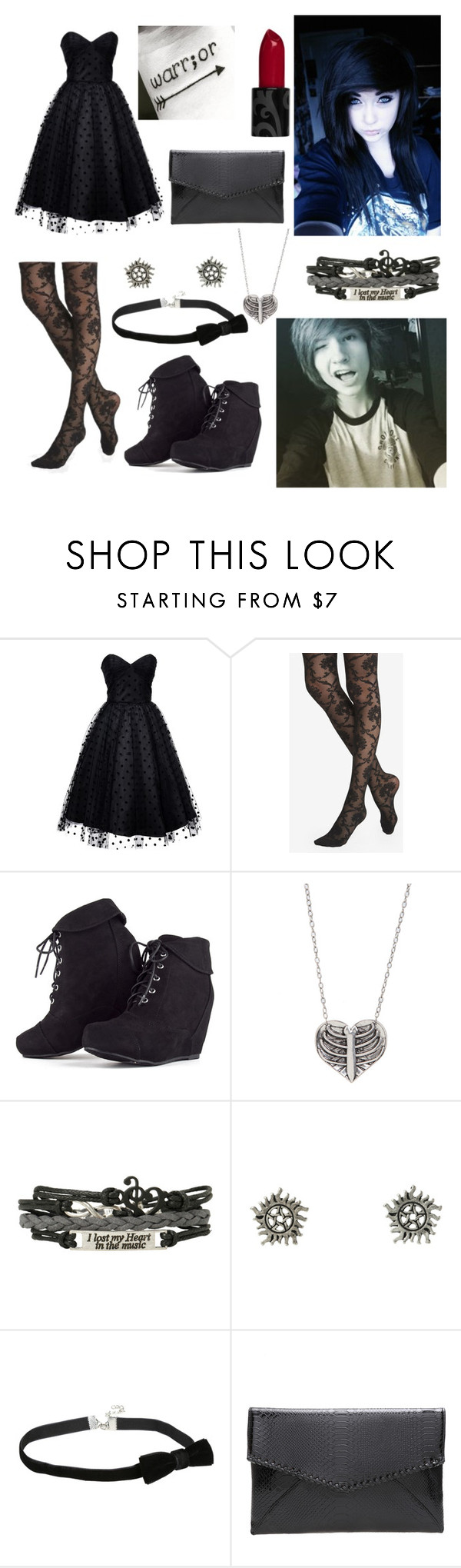 """Prom with Kyle David Hall!"" by one-direction-tumblr-girl ❤ liked on Polyvore featuring Iconic by UV, Express and MARA"