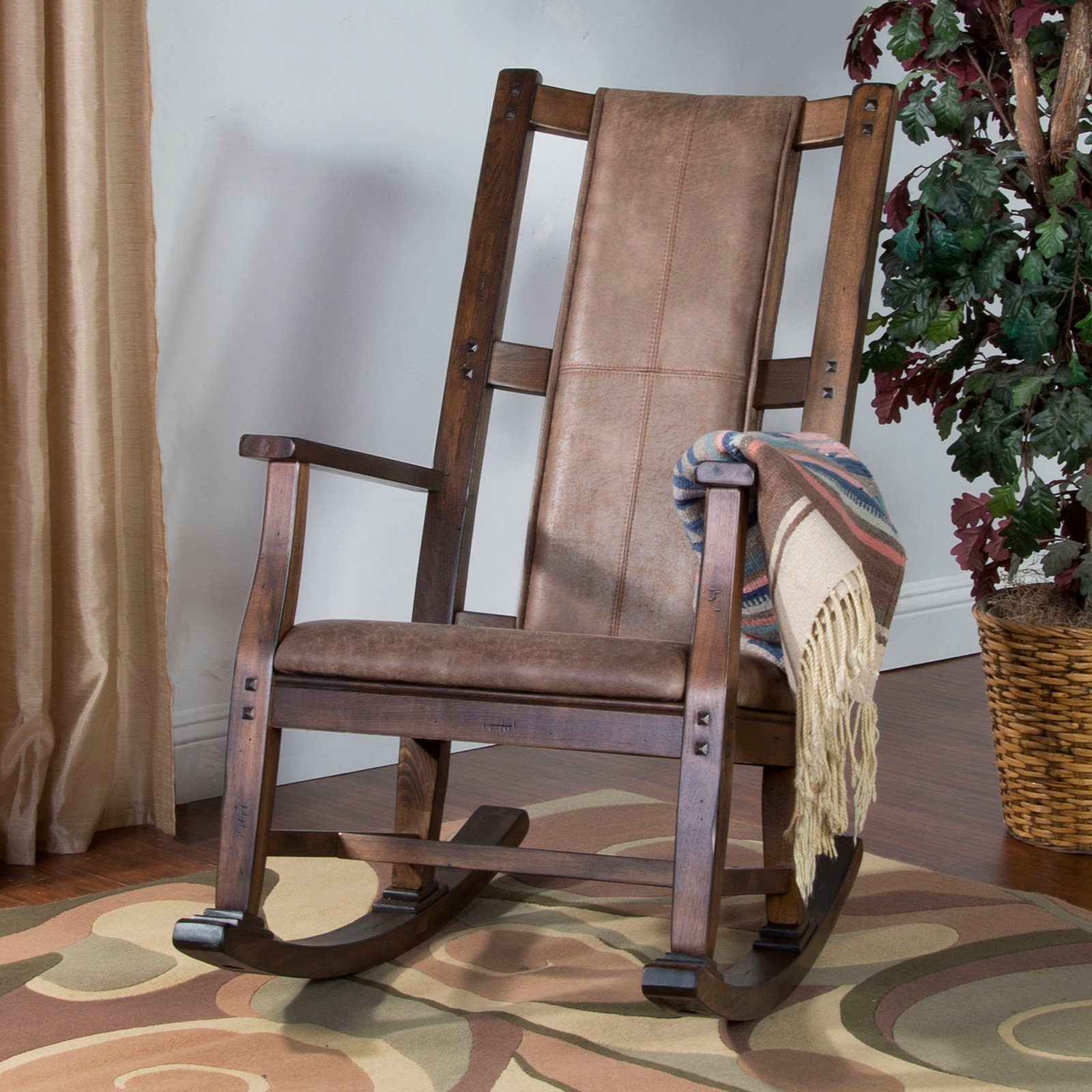 Accent Chair In Sketch Up: Sunny Designs Savannah Indoor Rocking Chair