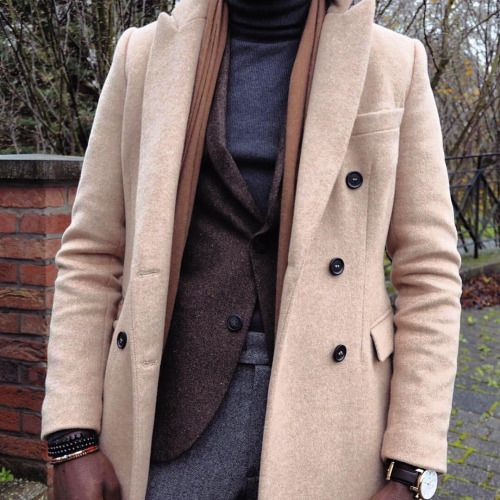 by @el.vin0 #coat#menswear#camel coat