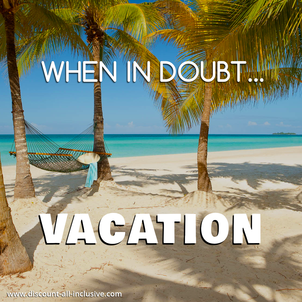 Because, you just can't go wrong there, regardless. #vacation