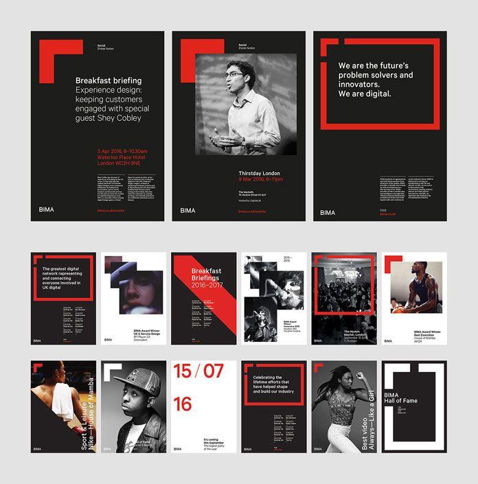 Bima Brand Identity By Only Studio Plakat Dizajn Illyustracii