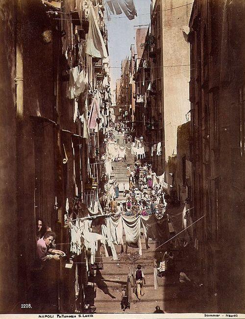 Sommer, Giorgio:  Pallonetto San Lucia, ca 1880.