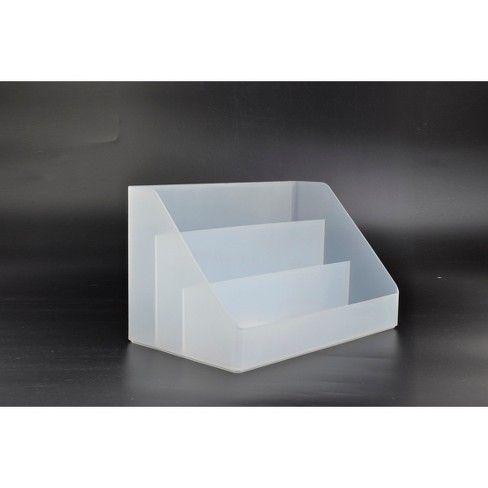 Plastic Desktop Organizer Large Made By Design Desktop Organization Desk Organization Made By Design