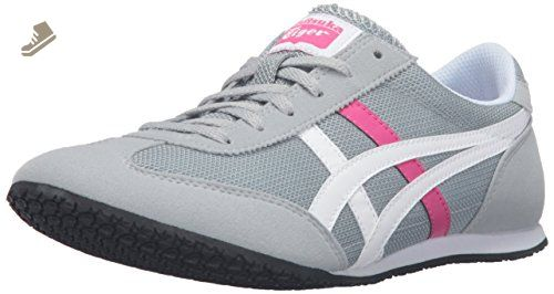 00b8da9d6e471 Onitsuka Tiger Women's Machu Racer Fashion Sneaker, Light Grey/White ...