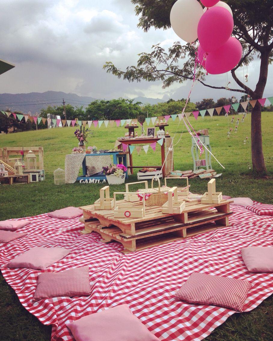 81 Ideas De Pic Nic Party Fiesta De Picnic Cumpleaños Picnic Fiesta Picnic