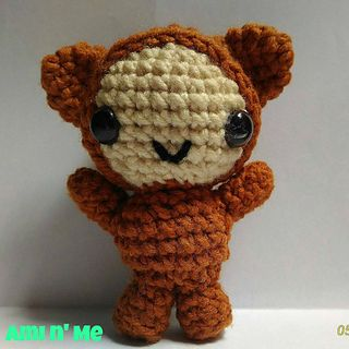 Grizzly the bear boy pattern is so easy to make this is perfect for beginners like you so try and make one now!!!!!!