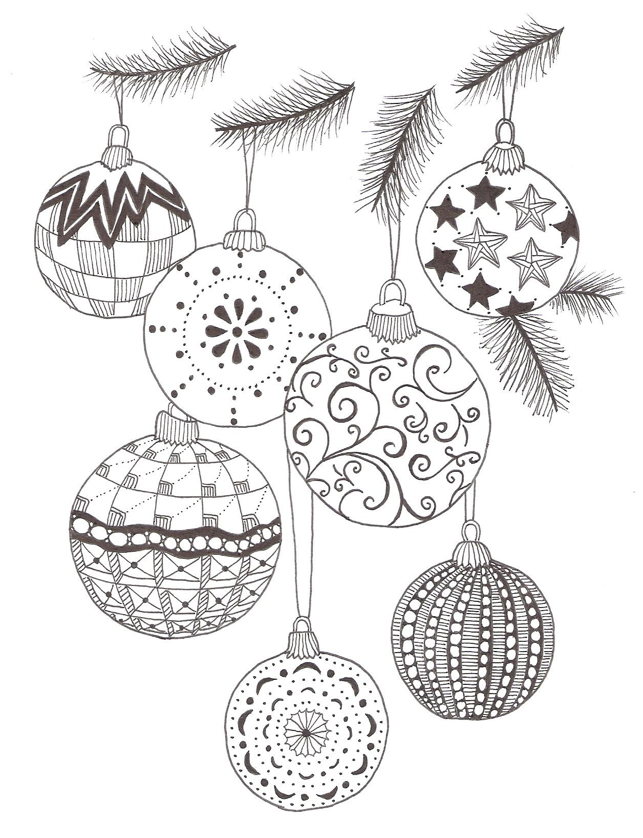 Christmas Zentangle Patterns | Color pages | Pinterest | Christmas ...