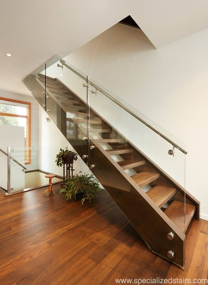 Best White Oak Open Rise With Images White Oak Stairs 400 x 300