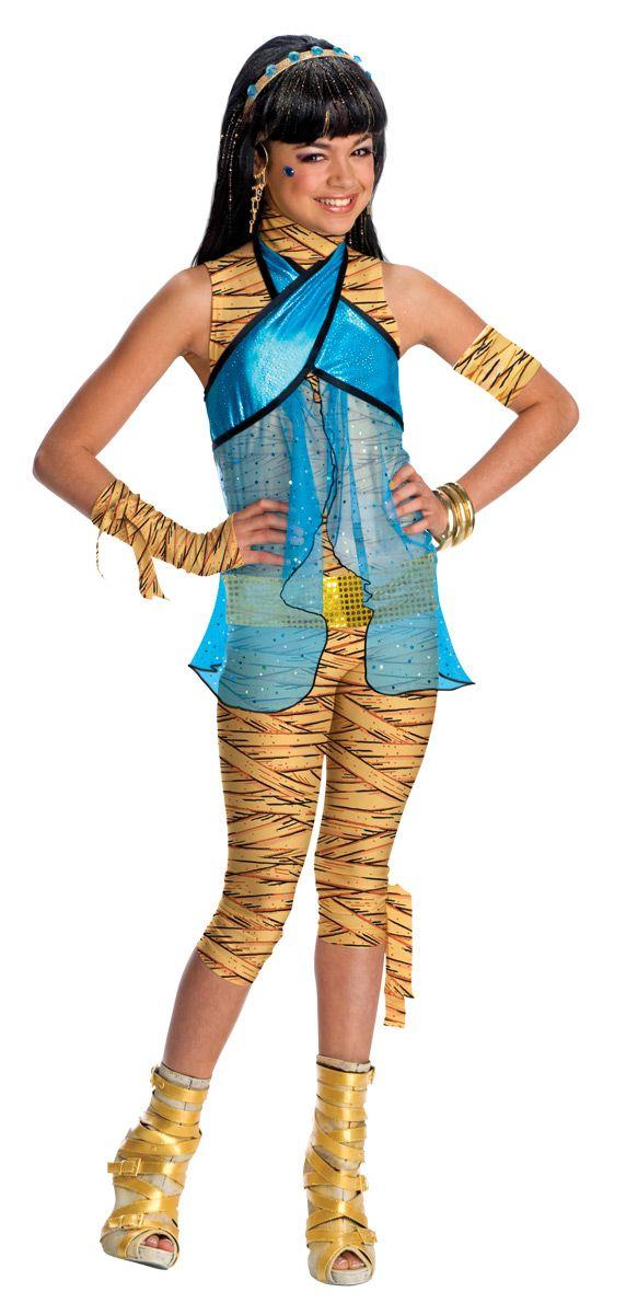 Déguisement Cléo De Nile Monster High Fille Costume Halloween