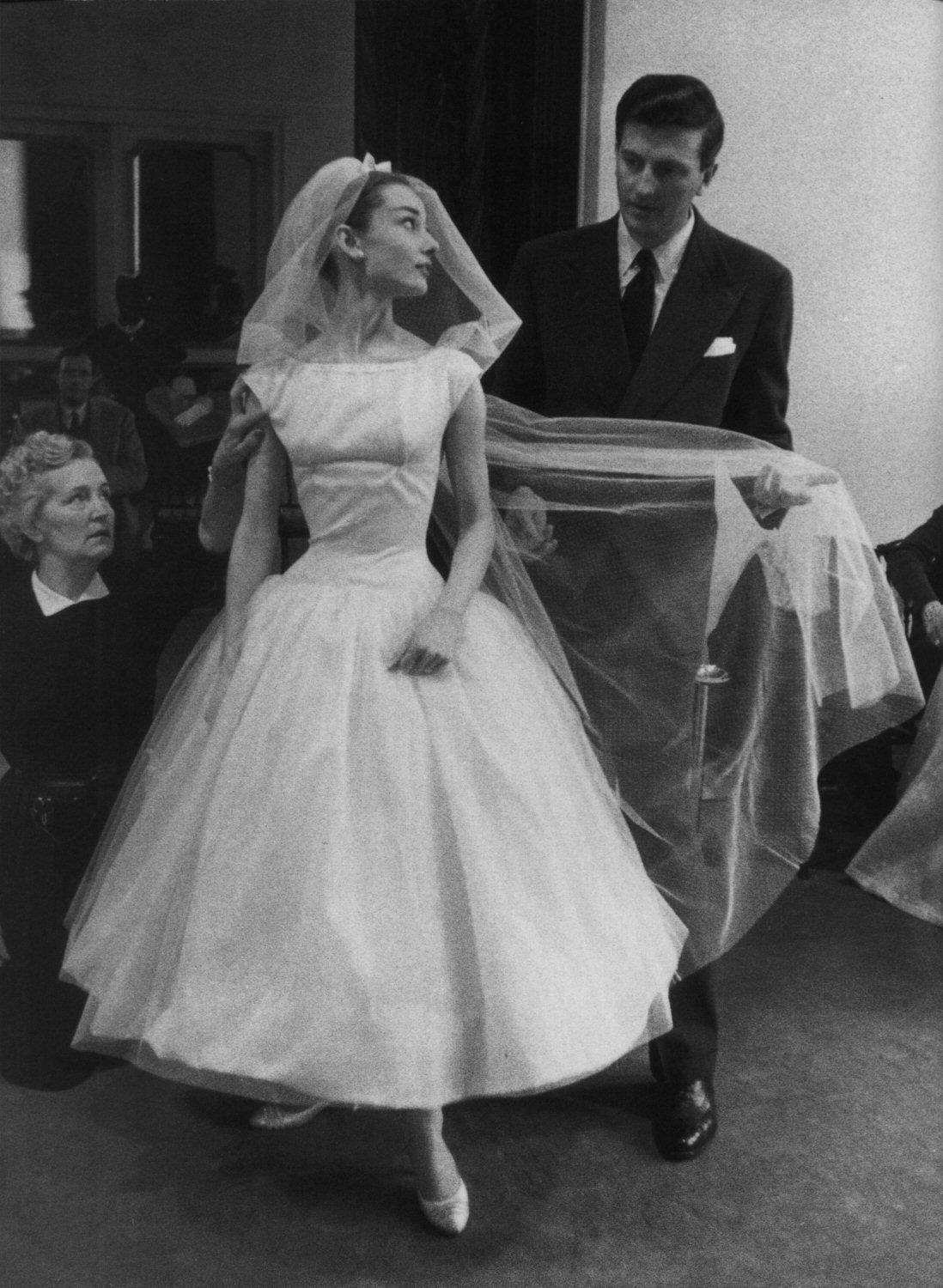 Movie Wedding Dresses | Audrey hepburn