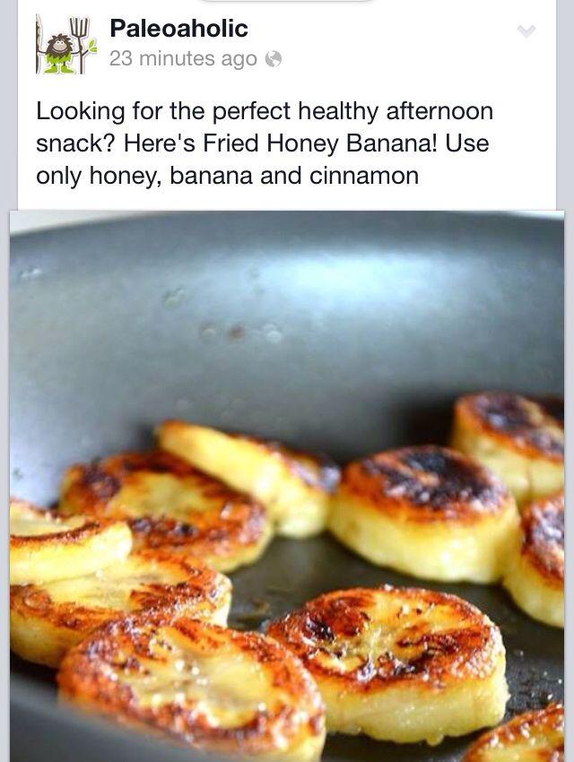 Banana Snack Idea