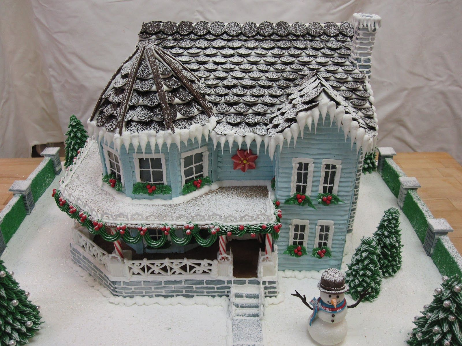 This Website Has Elaborate Gingerbread House Templates To Purchase
