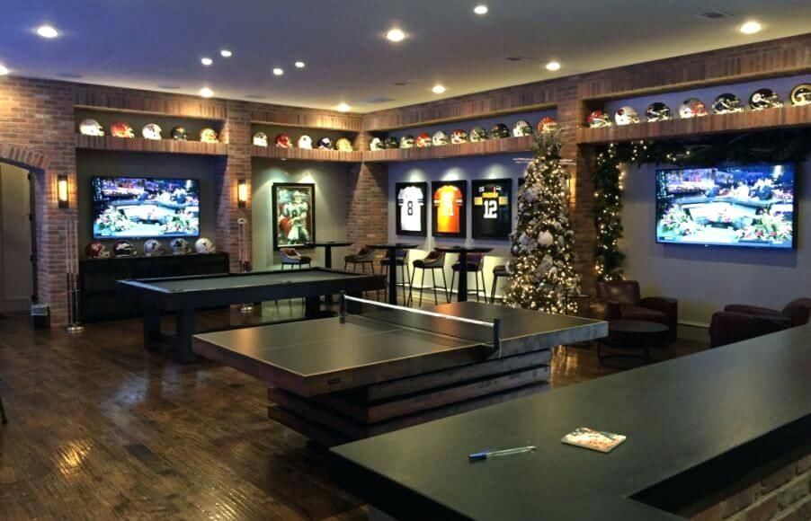 Ultimate Games Man Cave Man Cave Home Bar Sports Man Cave Bars For Home
